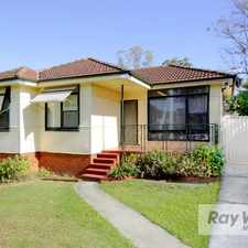 Rental info for LEASED BY VICTORIA GERMANO - RAY WHITE NORTHMEAD 0448 88 77 11 in the South Wentworthville area