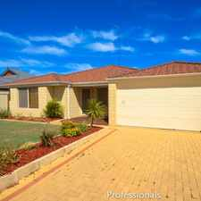 Rental info for MOVE ON IN NOW!!!! in the Perth area
