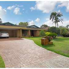 Rental info for MAGNIFICENT FAMILY HOME, LOOK NO FURTHER! in the Jandakot area