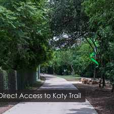 Rental info for Gables Katy Trail