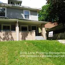 Rental info for 432 N Bradley in the Indianapolis area