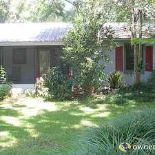 Rental info for Single Family Home Home in Alachua for For Sale By Owner