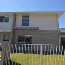 Rental info for Large Stand Alone Townhouse in the Greenbank area