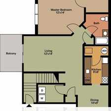 Rental info for Move-in condition, 1 bedroom 1 bath. Pet OK!