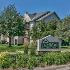 Rental info for The Pointe Apartments