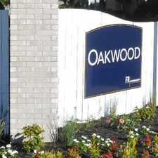 Rental info for Oakwood