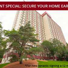 Rental info for Garneau Towers Apartments in the Garneau area