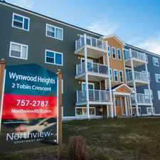 Rental info for Wyndwood Heights - 2 Bedroom Apartment for Rent in the St. John's area