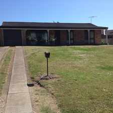 Rental info for 4 bedroom family home in the Singleton Heights area
