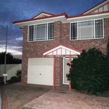 Rental info for PERFECT LOCATION in the Narellan Vale area