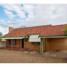 Rental info for LEASED!!! in the Perth area