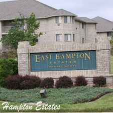 Rental info for East Hampton Estates