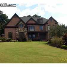 Rental info for Five+ Bedroom In Forsyth County