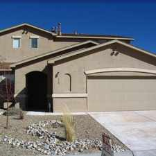 Rental info for This is a beautiful and spacious home located in the desirable Huning Ranch subdivision.