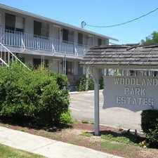 Rental info for WOODLAND 2 bedroom apartment. IN GREAT CENTRAL RAILROAD DISTRICT LOCATION