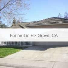 Rental info for Pet Friendly 3+2 House in Elk Grove