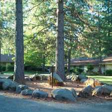 Rental info for Come home to a serene setting in pines.