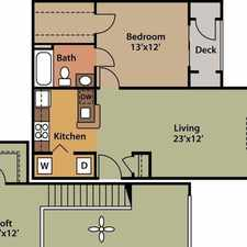Rental info for 2 bedrooms Loft - Welcome to Paredim Eaves at Trumbull.