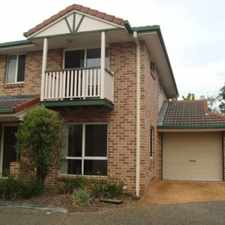 Rental info for Townhouse in great location - handy to everything !!!!! Plus first week rent free!!! in the Calamvale area