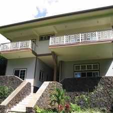 Rental info for Upper Manoa - Built in 2004. Washer/Dryer Hookups!