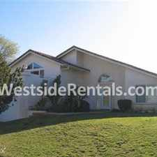 Rental info for 4 bedrooms, 2 12 Bath in the Porter Ranch area