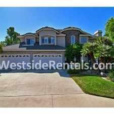Rental info for 5 Bedroom 4.5 Bath House in the Yorba Linda area
