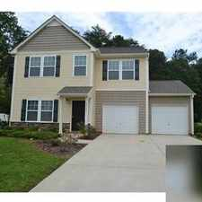 Rental info for 3 bedrooms House - This spacious Mount Holly, NC. Single Car Garage!