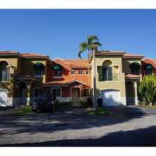 Rental info for 13445 Southwest 153rd Terrace