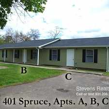 Rental info for 401 Spruce Avenue