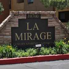 Rental info for La Mirage