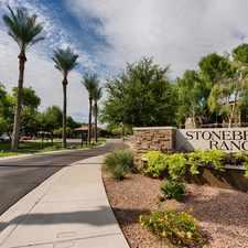 Rental info for Stonebridge Ranch