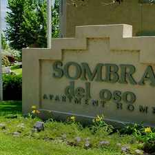 Rental info for Sombra Del Oso Apartment Homes in the Taylor Ranch area