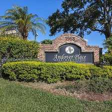 Rental info for Andover Place in the Orlando area
