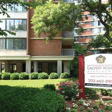 Rental info for Calvert House Apartments in the Arlington area