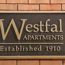 Rental info for The Westfal in the Downtown area