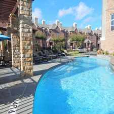 Rental info for Gables Highland Park Brownstones in the Dallas area