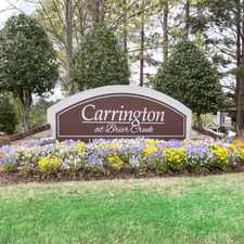 Rental info for Carrington at Brier Creek