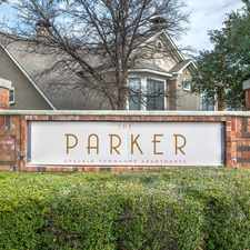 Rental info for The Parker in the Plano area