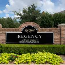 Rental info for Regency at First Colony