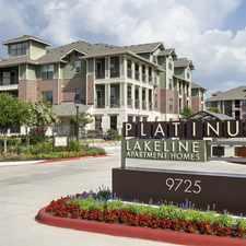Rental info for Platinum Lakeline