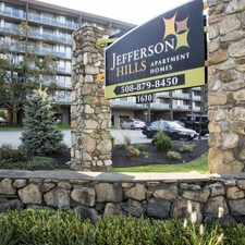 Rental info for Jefferson Hills in the 01702 area