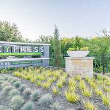 Rental info for Cypress in the McKinney area