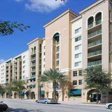 Rental info for Gables Grand Plaza
