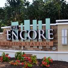 Rental info for Encore at Wheaton Station