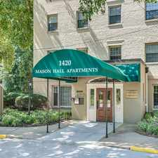 Rental info for Mason Hall in the Potomac Yard - Potomac Greens area