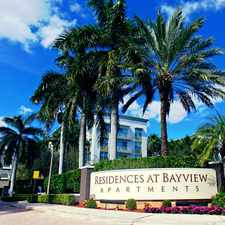 Rental info for Residences at Bayview in the Fort Lauderdale area