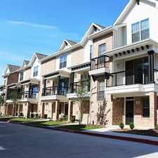 Rental info for Parkside Towns in the Richardson area