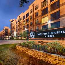 Rental info for The Millennium Kirby in the Houston area