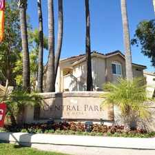 Rental info for Central Park La Mesa in the El Cajon area