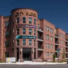 Rental info for One City Block in the Five Points area